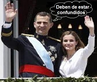 LA CONFUSIÓN DE LOS REYES DE ESPAÑA