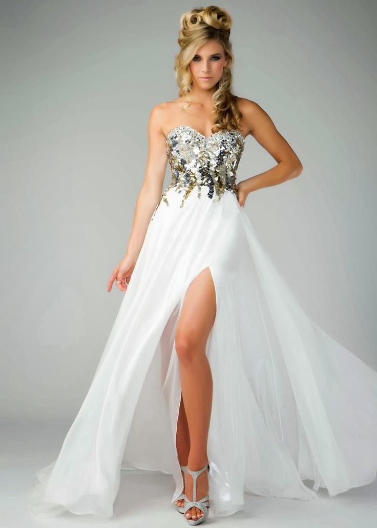 robe de bal comment porter avec des robes formelles sans bretelles. Black Bedroom Furniture Sets. Home Design Ideas