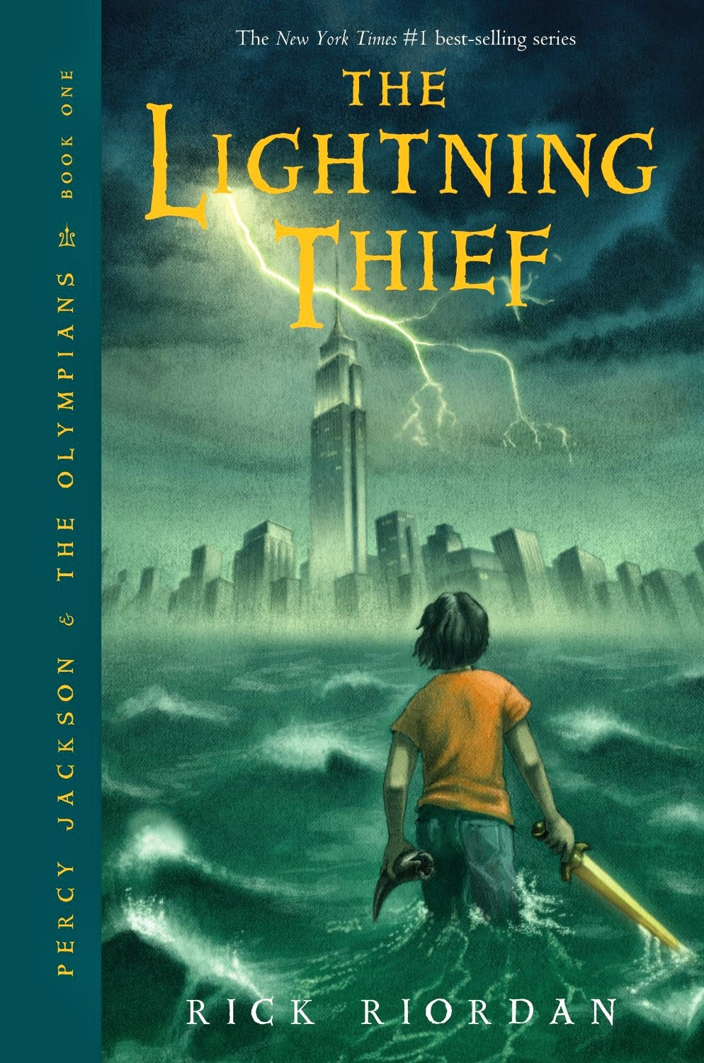 Book Review: Percy Jackson & The Lightning Thief (Book 1), By Rick Riordan
