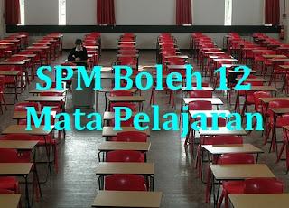 SPM 12 Mata Pelajaran