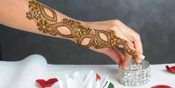 Henna Mehndi New Design : Stylish mehndi henna designs collection for new parties from