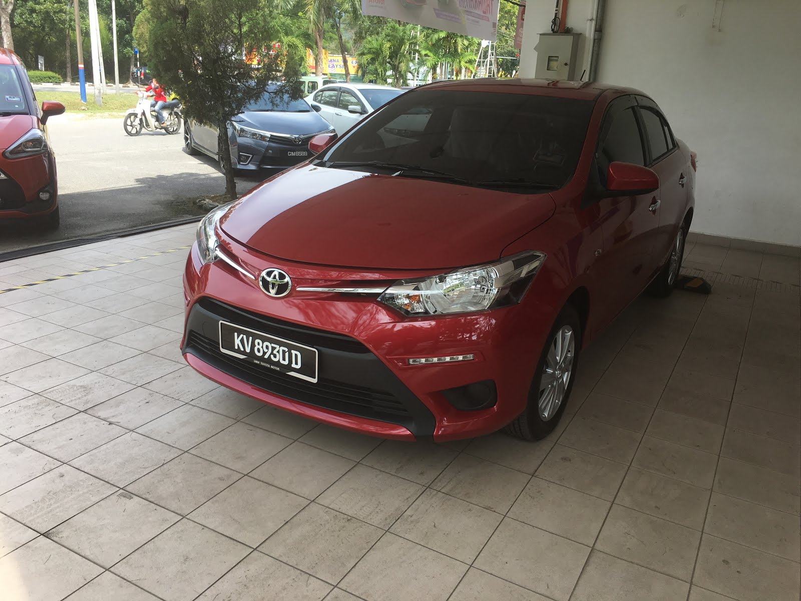 LATEST CAR - TOYOTA VIOS