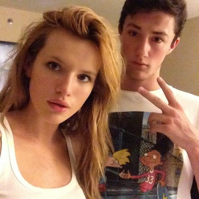 Bella Thorne shares a few images into her Instagram account during her vacation in Santa Monica on Monday, May 26, 2014