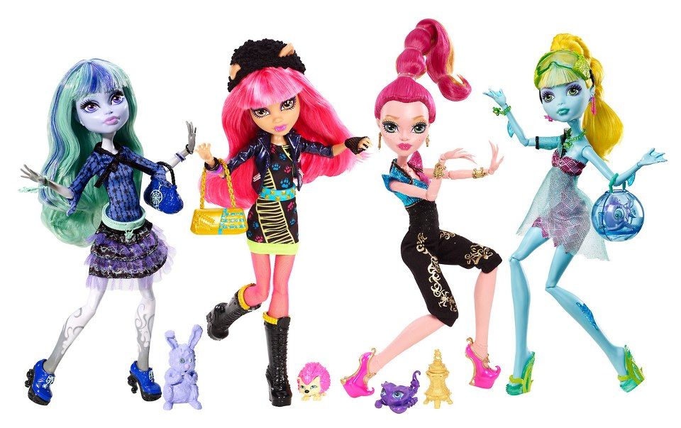 Monster High-Pretty : Monster High 13 Deseos Muñecas Basicas: monsterhigh-pretty.blogspot.com/2013/02/monster-high-13-deseos...