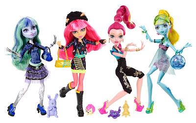 Monster High 13 Deseos Muñecas Basicas