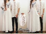 Baju Muslim Gamis Couple Miqailla JX090 HABIS