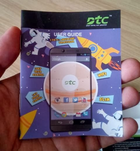 DTC Mobile GT17 Jupiter User Guide