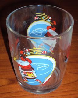 bicchiere nutella collezione
