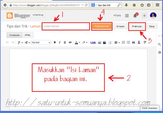 cara membuat laman pada blog-3