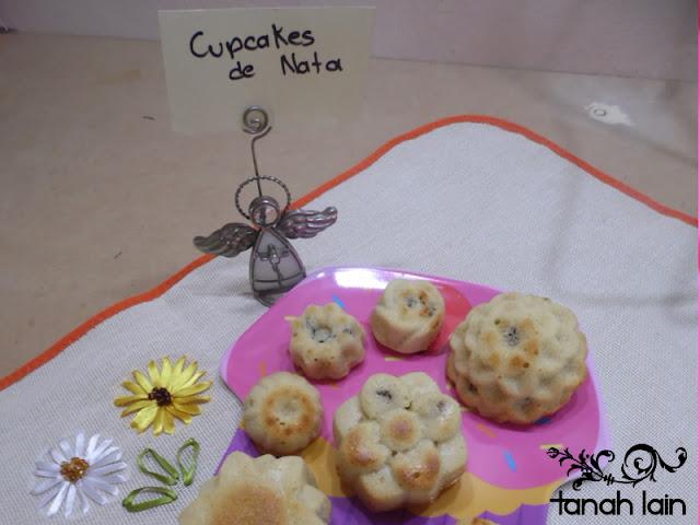 Receta de Cupcakes de Nata