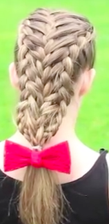 Feathered Dutch Braid into French Braid - The complete Tutorial video