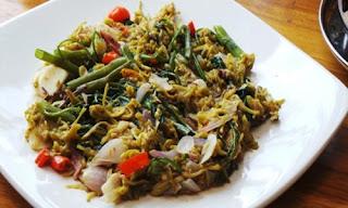 Sayur Pakis Tumis Tauco Khas Kalimantan Selatan