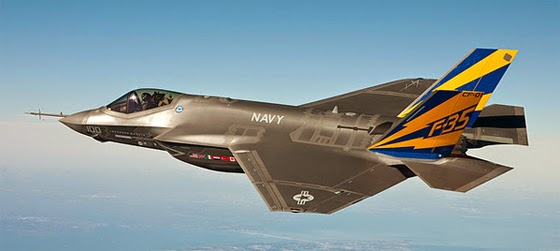 The F-35 Joint Strike Fighter. (Photo from Wikimeda Commons)
