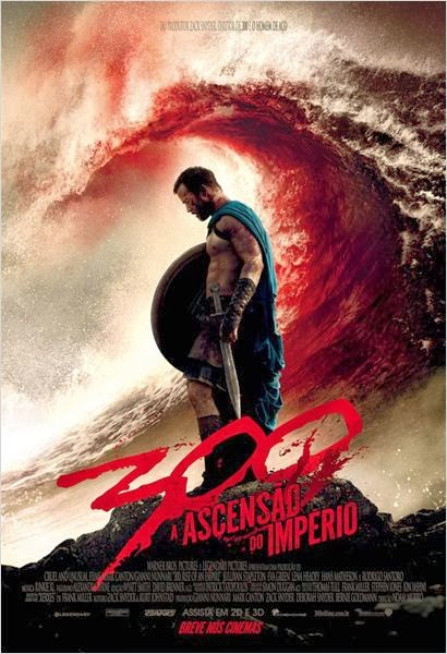 "Poster do filme ""300 - A Ascensão do Império"""