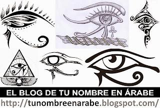 Diseños de tattoos del ojo de Ra