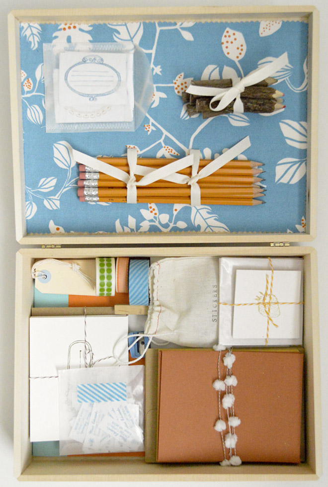 weekend project diy letter writing kit