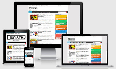 kamisamazune-responsive-blogger-template
