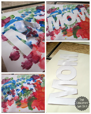 Mother 39 s day poem and craft the educators 39 spin on it for Mothers day painting crafts