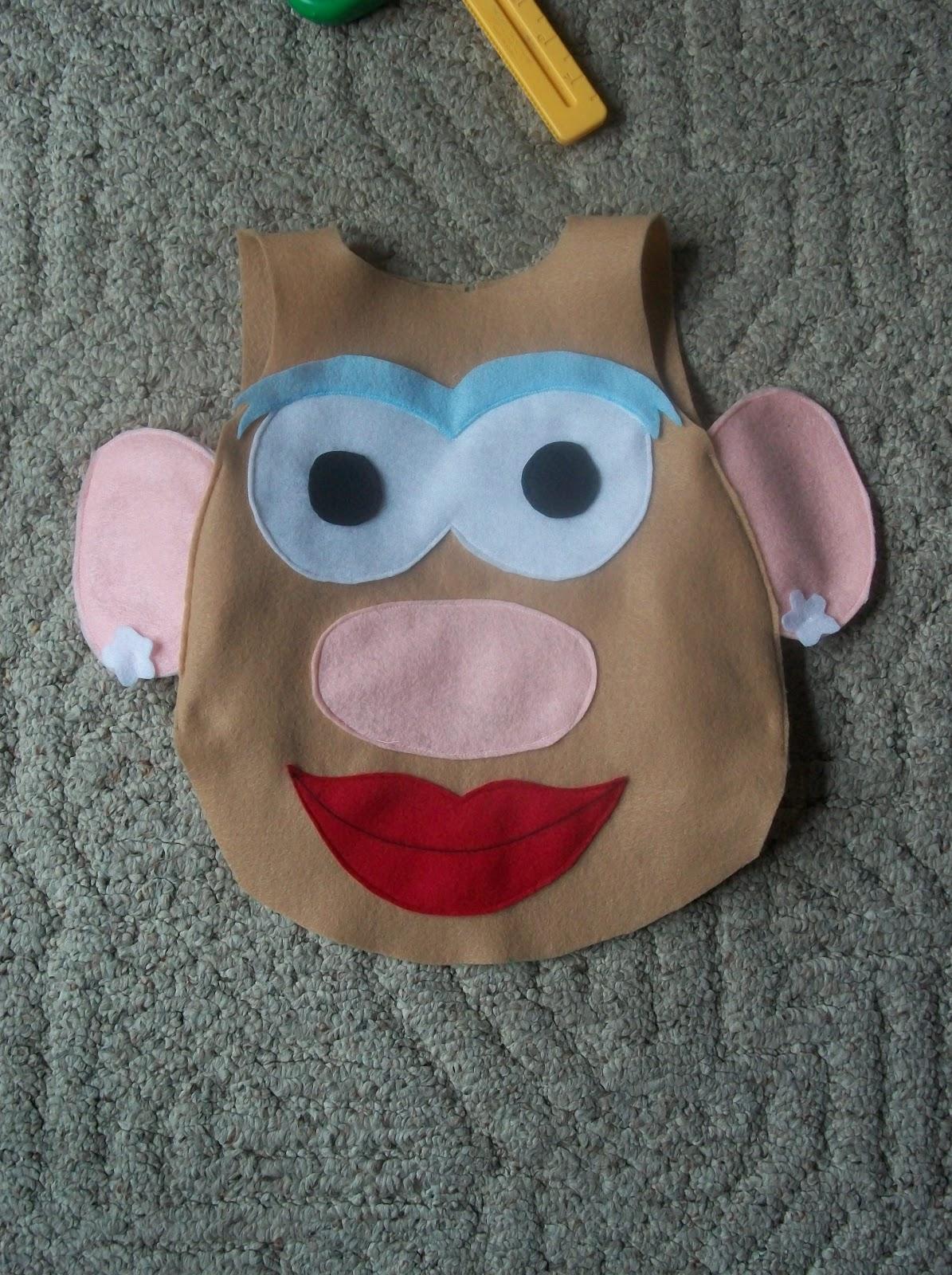 always homemade mr mrs potato head costume