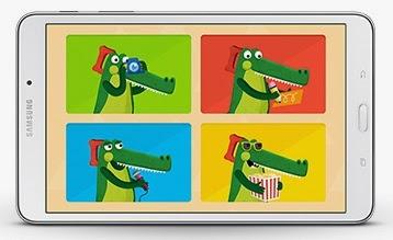 Samsung Galaxy Tab 4 8.0 Kids Mode