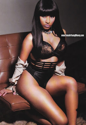 fotos en ropa interior de nicki minaj