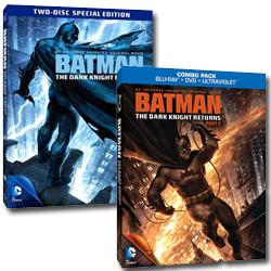 Batman: el regreso del caballero Oscuro Parte 1 y 2