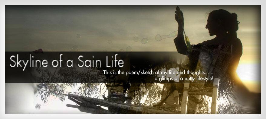 Skyline of a 'sain' life