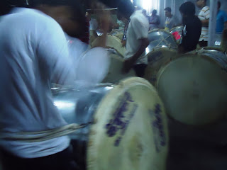 Ganesh immersion procession, dhol practise