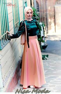 nisa moda 2014 tesett%C3%BCr Elbise modelleri95 nisamoda 2014, 2013 2014 sonbahar kış nisamoda tesettür elbise modelleri