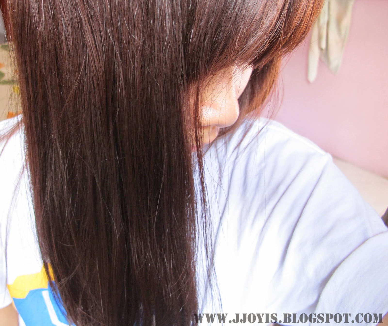 hair condition after dyeing