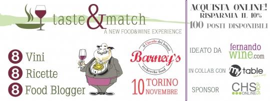 tarte brisèe con tonno e broccoletti per il taste&match: la seconda edizione torinese al circolo dei lettori