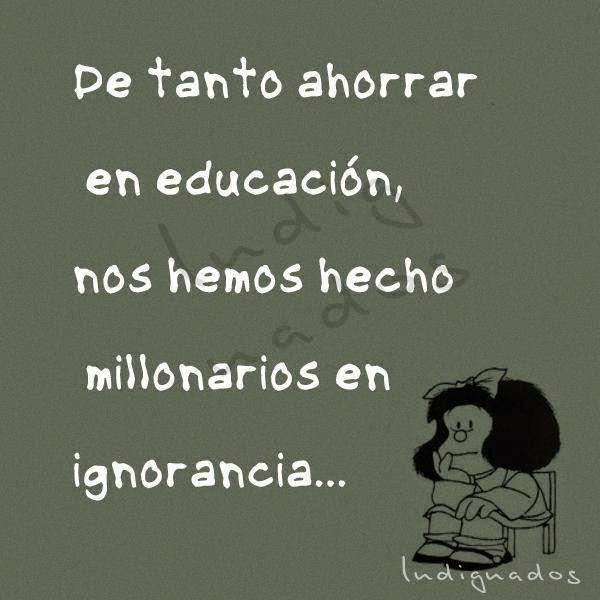 Frases bonitas para facebook marzo 2015 for Educacion para poder