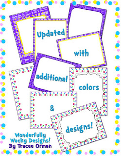 Inspired by Seuss Frames and Backgrounds Clip Art