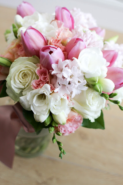 bridal bouquet by Lily Sarah