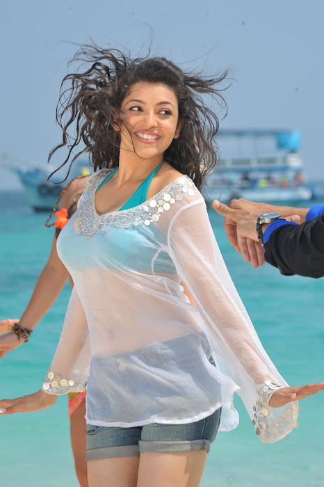 kajal agarwal spicy from businessman, kajal agarwal new unseen pics