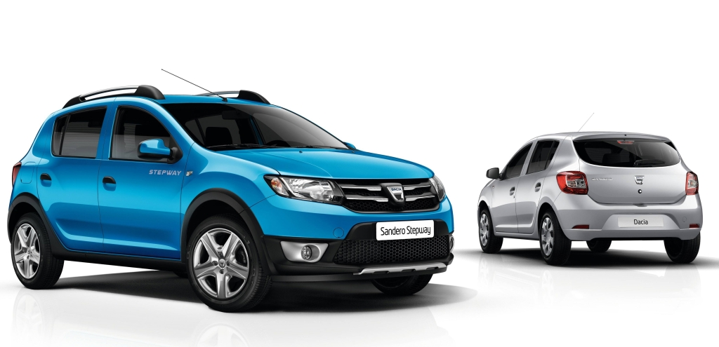 dacia sandero stepway autos weblog. Black Bedroom Furniture Sets. Home Design Ideas