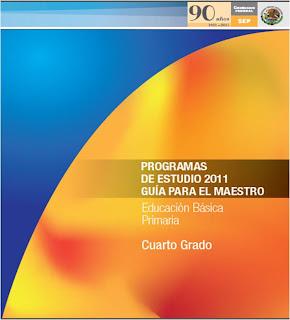 PROGRAMA CUARTO GRADO 2011