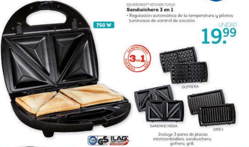 Lidl catalogo sandwichera lidl silvercrest euros - Como limpiar sandwichera ...
