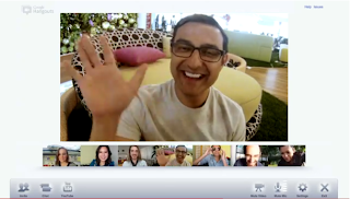 videoconferenza in Google+ Ritrovi