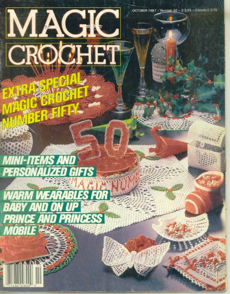 Magic Crochet No. 50 ~ Free Crochet Patterns