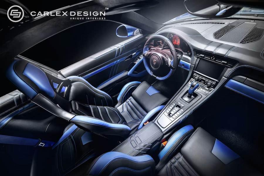 内装がレザーだらけの「カーレックスデザイン」の「ポルシェ911」と豪華インテリアの製作工程を動画で紹介