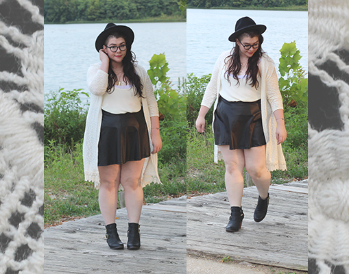 The Golden Hour--a look on http://www.katielikeme.com #fatshion #fashion #psblogger
