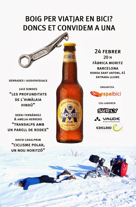 Con un par de ruedas blog himalaya transalpes laponia invernal 3 conferencias 1 cerveza - Moritz ronda sant antoni ...