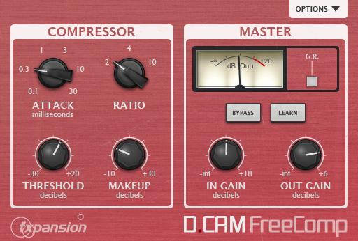 Plugin VST Compressor DCAM FreeComp