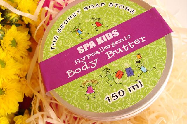 The Secret Soap Store SPA KIDS - Owocowe masło do ciała