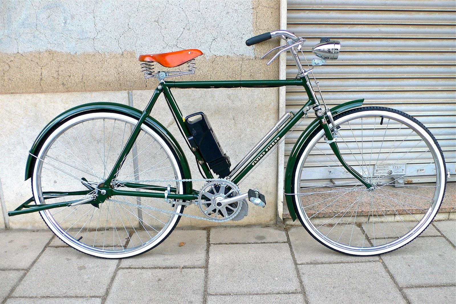 Flying pigeon bicycles bicicleta cl sica el ctrica de for Bicicletas antiguas nuevas