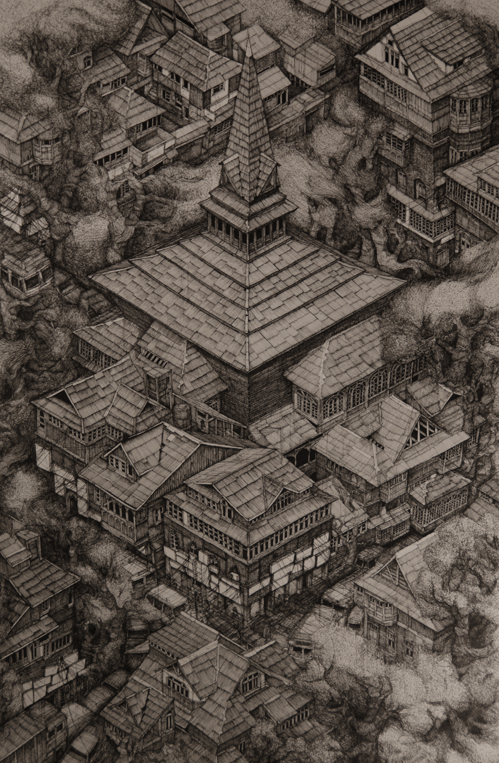 17-Srinagar-Kashmir-Evan-Wakelin-Architectural-Drawings-in-Isometric-Projection-www-designstack-co