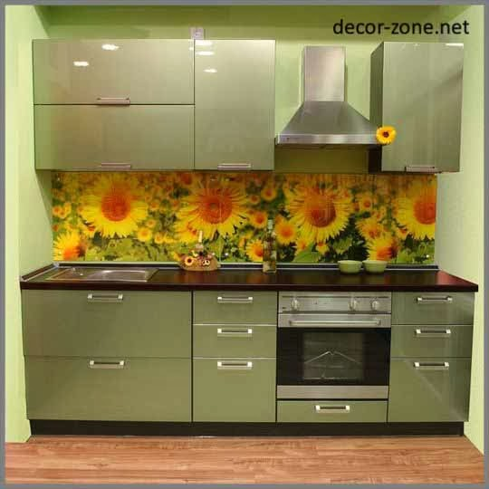 Kitchen glass wall panels designs tips advantages for 2 wall kitchen designs