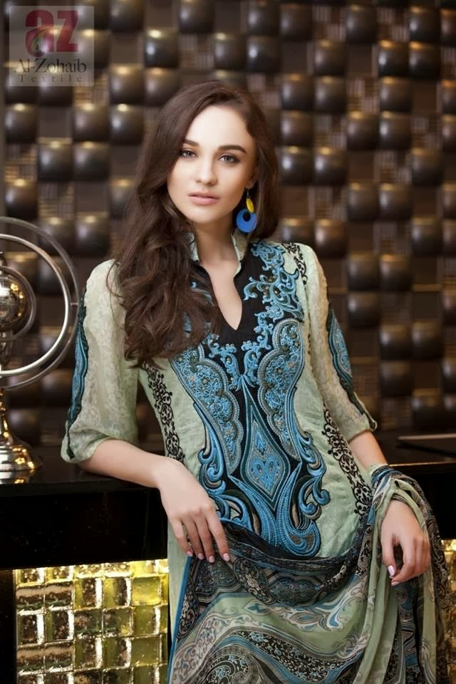Digital Printed Neckline Lawn Suits