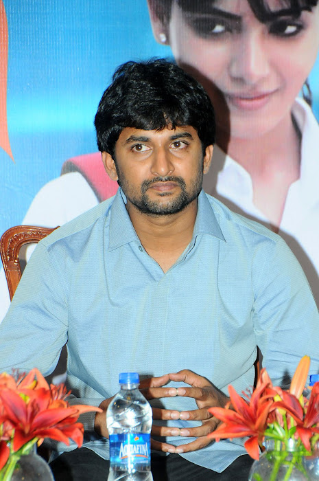 Nani at YVM Pressmeet release images
